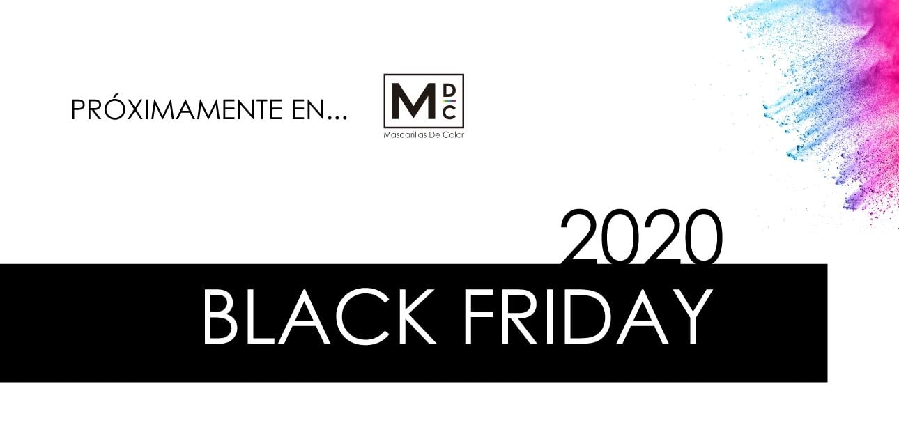 black friday mascarillas 2020