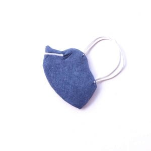 mascarilla azul vaquero imitación