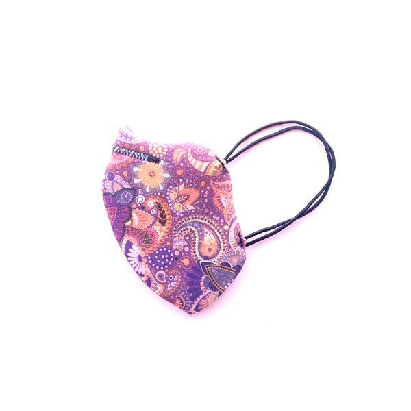 mascarilla fantasia morada lila