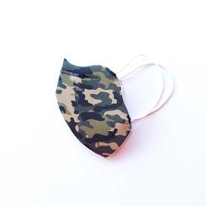 mascarilla camuflaje militar verde hombre mujer